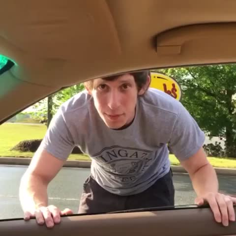 Vine by Samuel Grubbs - When your jam comes on at a stop light 🚦😂 Pt. 4 #runningmanchallenge (🎥: Tim Raveica)