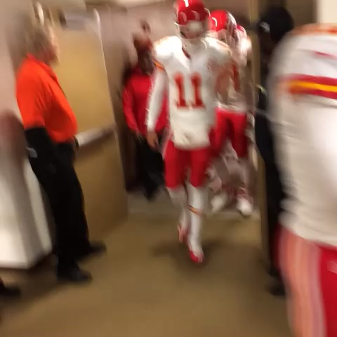 Here come the #Chiefs - Reid Ferrins post on Vine