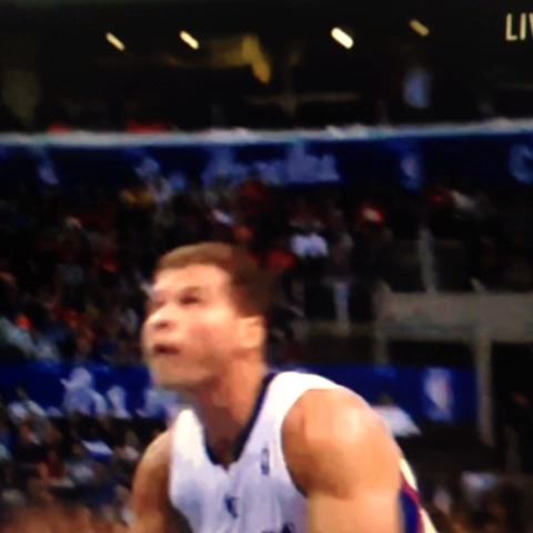 Blake Griffin with the Karl Malone dunk!! - Basketball Forevers post on Vine