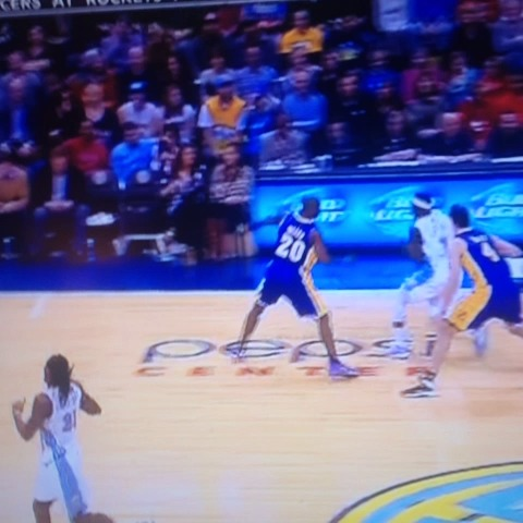 Justin Faudrees post on Vine - Ty Lawson breaks Jodie Meeks ankles. - Justin Faudrees post on Vine