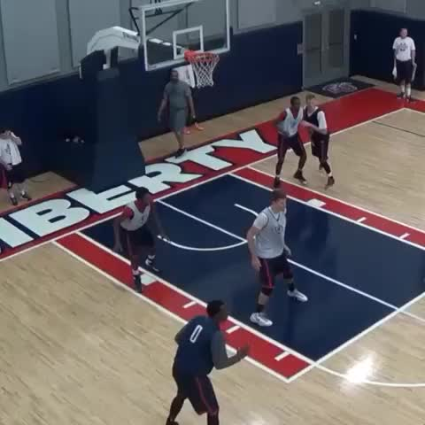 Liberty Mens Basketballs post on Vine - Tomasz is ready..Are you? #GOFlames #vinesinvines - Liberty Mens Basketballs post on Vine