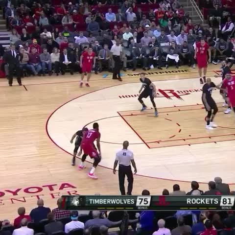 Vine by Whistle Sports - James Harden SICK crossover on Ricky Rubio!