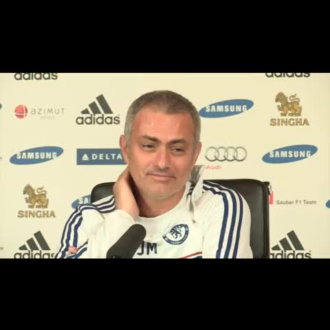 Vine by BreatheSport - Jose Mourinho right now @BreatheSport