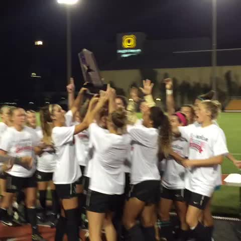 And #UCFs first @American_Conf title of 2014-15 is in the books! Congrats @UCF_WSoccer! #ChargeOn - UCF Knightss post on Vine