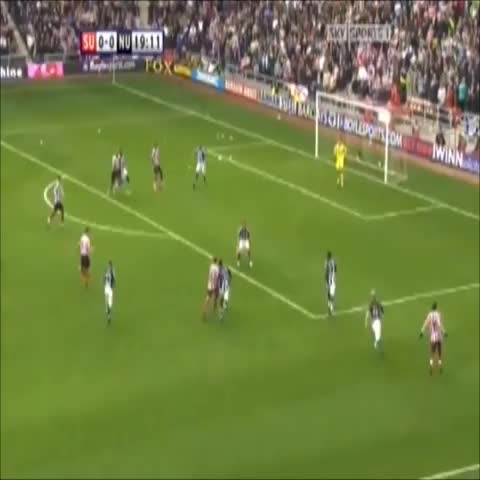 Jake Kells post on Vine - Vine by Jake Kell - Djibril Cissé scores against Newcastle. #SAFC