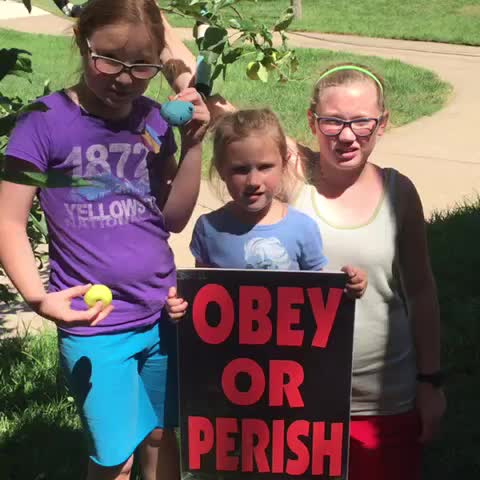 """Vine by Shirley Phelps-Roper - """"Submit yourselves therefore to God. Resist the devil, & he will flee from you.""""James 4:7 Satan=Liar #SatanOwnsThisGeneration"""