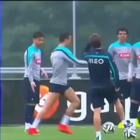 Vine by AdriGpz♡ - Cristiano is so excited for the #WorldCup 😏😆 (inspired by his fan page: CRISTIΔNO)