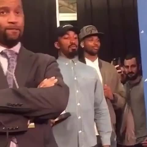 Vine by Bleacher Report - JR Smith was getting impatient 😂