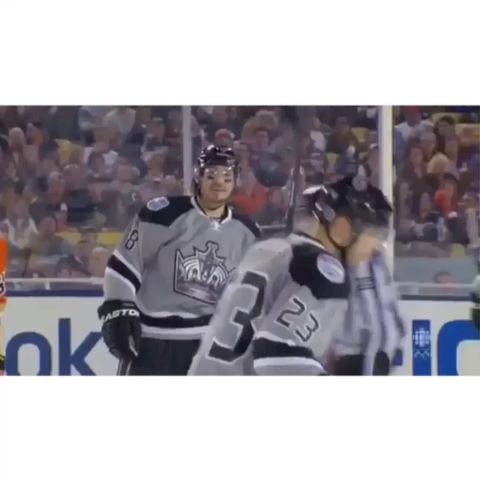 NHL Humor Viness post on Vine - Throwback to Drew Doughty chirping 😂😂😂 #BuddyYouSuckAtHockey (Video idea to Alex Grade) - NHL Humor Viness post on Vine