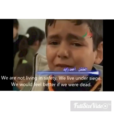 A palestinian child express his feelings about the siege in gaza #FreePalestine - The Truth about Israels post on Vine