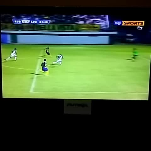 Vine by Futgol 970 - Gol de Jorge Ortega para #Luqueño 970 AM
