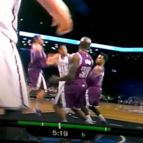 Your typical Jorge hustle play. Scrambles for seven seconds to force a jump ball. #Nets #Cal - GoldenBlogss post on Vine