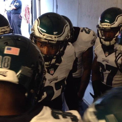 Philadelphia Eagless post on Vine - Youll want to watch this again and again: Inside the DBs huddle. #NoFlyZone - Philadelphia Eagless post on Vine