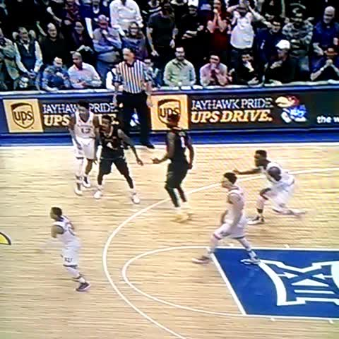 """Vine by Chris Anderson - That """"foul"""" on Daxter Miles. #WVU"""