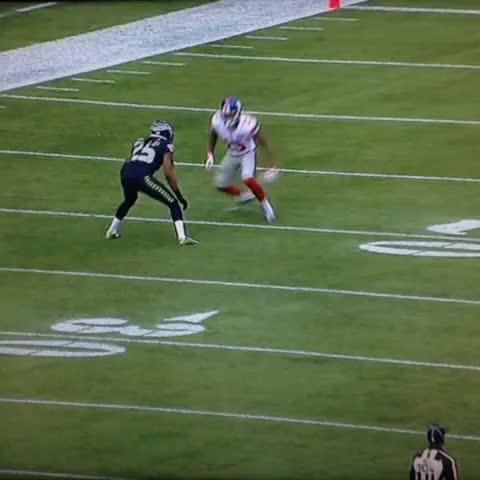 Watch Giants Odell Beckham Jr Burns Seattle Seahawks