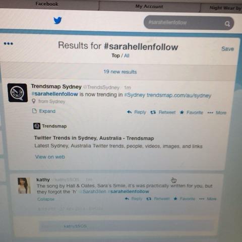 Sara Ellen And Luke Hemmings Watch Sarah Ellen's Vi...