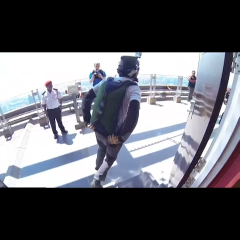 Epic BASE jump! Follow, like and revine for more! #vinyet #edit #basejump #stayhigh #insane #win #basejumping #awesome #jump - CRAZIEST BASE JUMPSs post on Vine