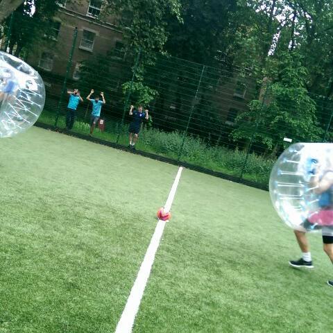 Play Zorb & Bubble Football in London   Bubble London UK
