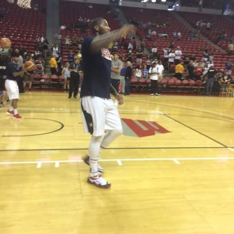 DeMarcus Cousins works in the post prior to tonights @USABasketball Showcase on @ESPN. - NBAs post on Vine