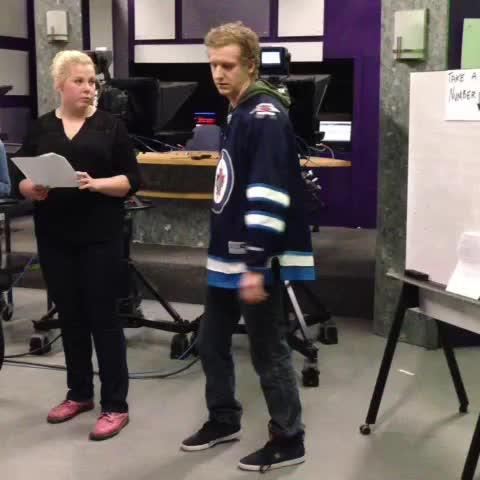 Kenton Larsens post on Vine - #crecomm Dan Huen does a mean Dancing Gabe. - Kenton Larsens post on Vine
