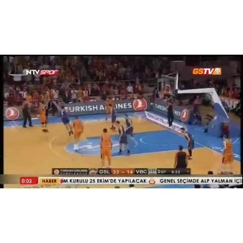 Galatasaray Baskets post on Vine - Carlos Arroyo: This is my house! - Galatasaray Baskets post on Vine
