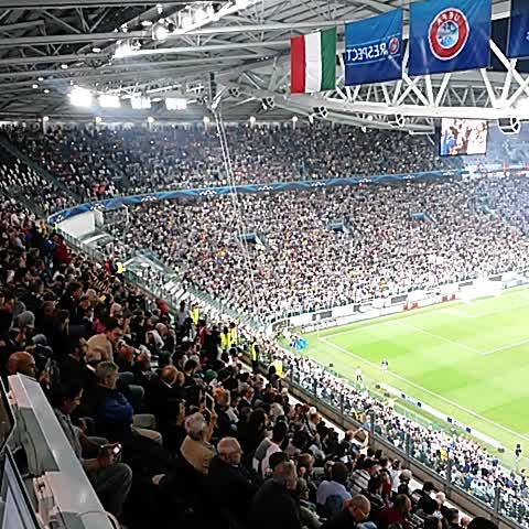The @championsleague anthem has just rung out at Juventus Stadium. Kick-off is imminent! - JuventusFCs post on Vine