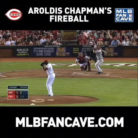 MLB Fan Caves post on Vine - Bringing the heat. #reds - MLB Fan Caves post on Vine