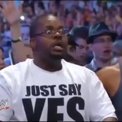 Vine by Jacob Christian McClure - Crowd reactions when Undertaker lost his undefeated WrestleMania streak 2 Brock Lesnar!!! #wwe #crowd #reaction #undertaker #loss #priceless