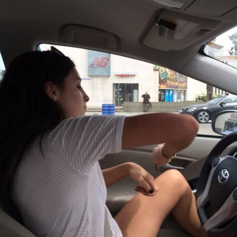 Me driving - Jenn McAllisters post on Vine