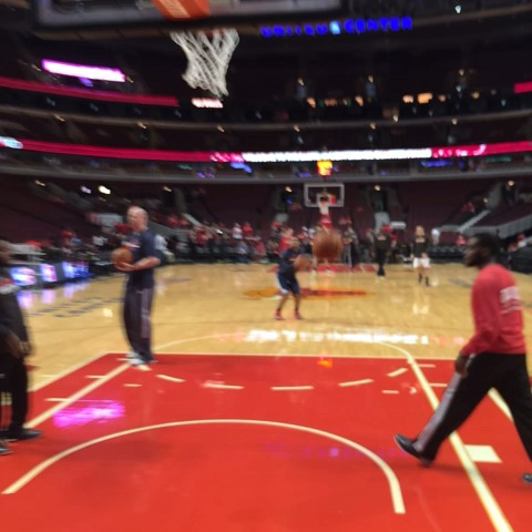 .@RealDealBeal23 warming up from deep #WizBulls #dcRising - Washington Wizardss post on Vine