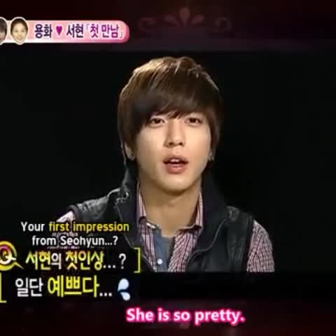 """Watch 이마키스's Vine """"his first impression from seohyun #yongseo"""""""