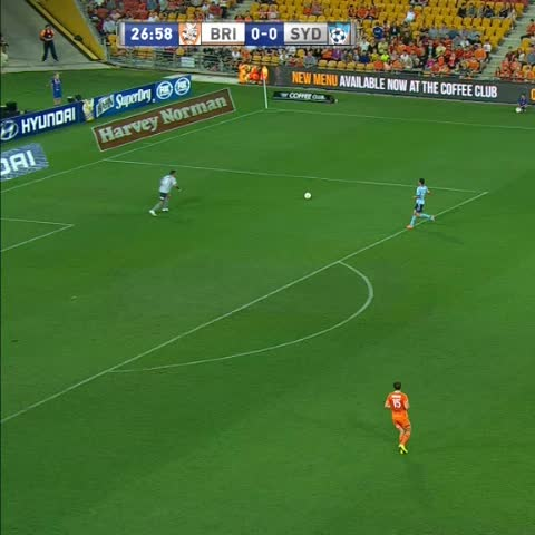 Fox Sports Footballs post on Vine - Marc Janko opens the scoring with a CRACKER! Watch again at our Match Centre:  http://bit.ly/1xgqGeJ #BRIVSYD - Fox Sports Footballs post on Vine