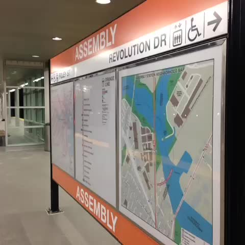 The #MBTAs 1st new rapid-transit station in 27yrs open! The #AssemblySquare stop. @NECN - Justin Michaelss post on Vine