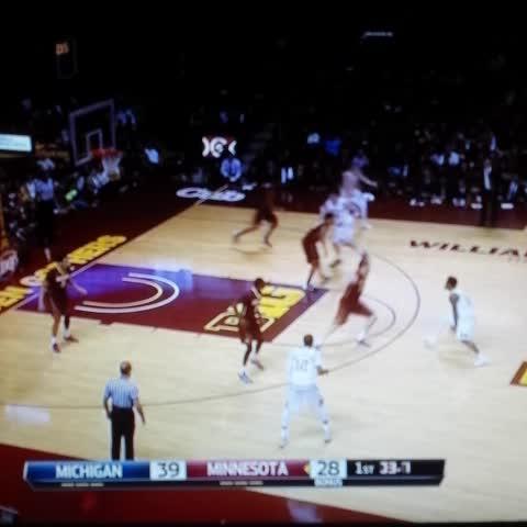Vine by @DETGoBlue - Derrick Walton Jr 3 at the buzzer! #michigan #basketball #GoBlue