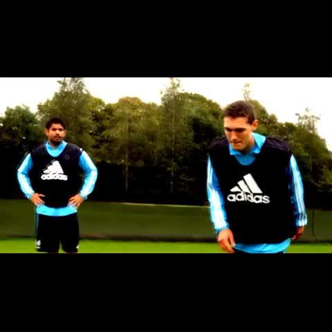 Diego Costa joking around in training #CFC #DiegoCosta - Feroze Alis post on Vine