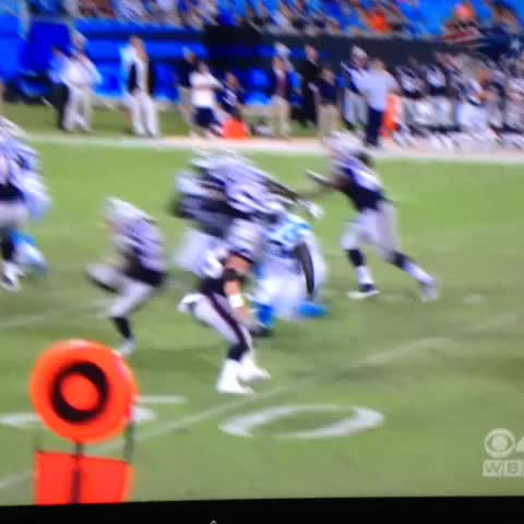 Vine by Boston Sports Info - D.J. Foster with an ankle breaking move on the Panthers