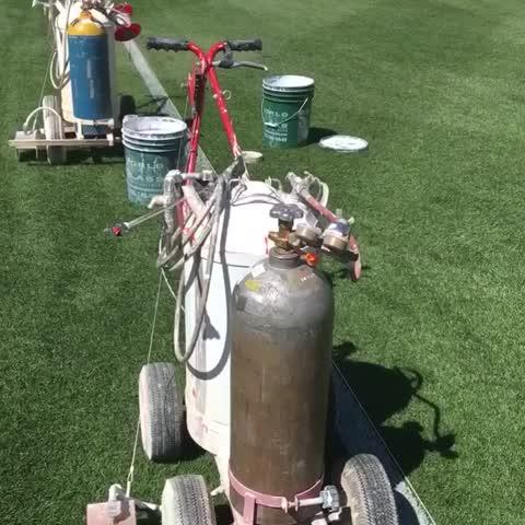 Vine by Green Bay Packers - #FamilyNight field prep is underway at @LambeauField!