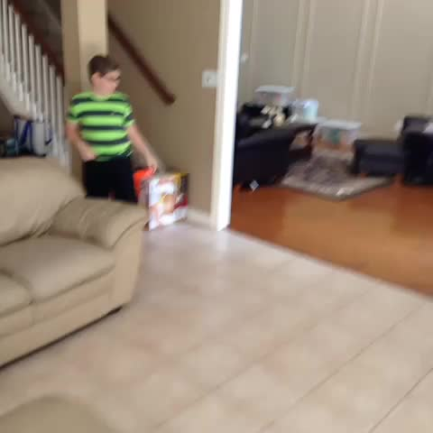 Easter bunny came while we were at church! Sweet!!!! - Ken Myerss post on Vine