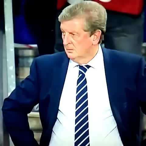 Vine by AllFootballLive - Roy Hodgson just trying to make friends... #england #football #soccer