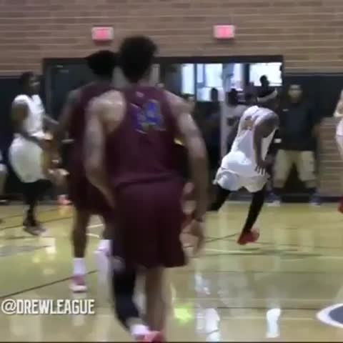 Vine by House of Highlights (Official) - Drummond got posterized TWICE (via Drew League)