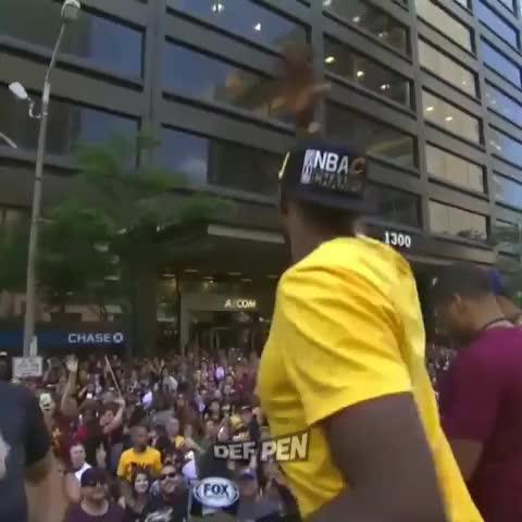 "Watch DefPenSports's Vine ""Tristan Thompson: ""Cleveland ..."
