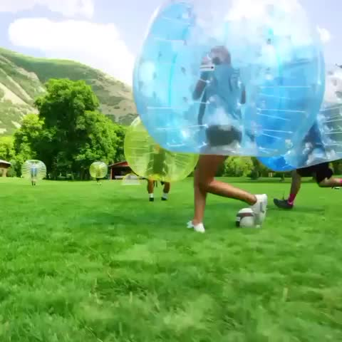 PEOPLE ARE AWESOMEs post on Vine - Vine by PEOPLE ARE AWESOME - Like if you want to play zorb soccer! #PeopleareAwesome #soccer