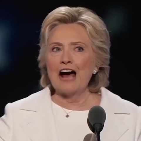 """Vine by POLITICO - .@HillaryClinton: """"When there are no ceilings, the sky's the limit"""""""