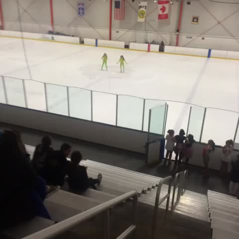 Vine by Oakland Ice Center - Our neighbors the #Oakland Arts High School are in the house today for their #figureskating masterclass!