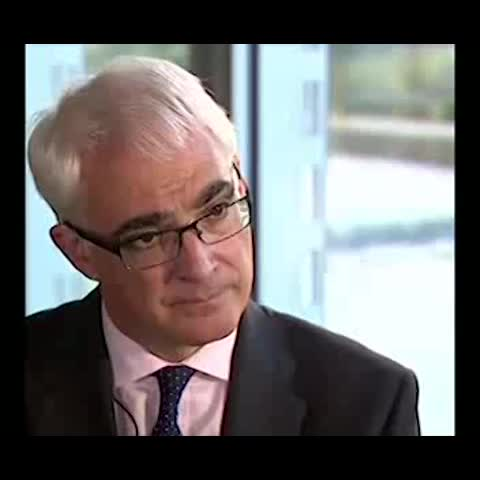 """Yes Scotlands post on Vine - Alistair Darling confirms """"of course we could"""" be a successful independent country. #indyref #ScotDecides - Yes Scotlands post on Vine"""