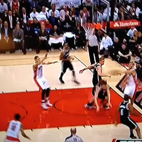 DeRozan beasting it with the left - Dan Tomans post on Vine