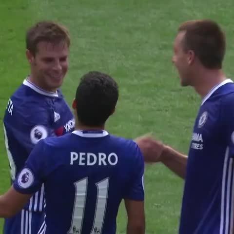 Vine by Chelsea FC - Chelsea 3-0 Burnley! 👍