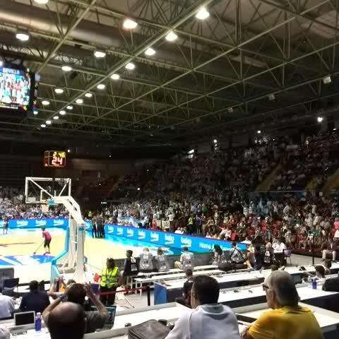 TyC Sportss post on Vine - Argentina muestra que está entera y el Palacio San Pablo se viene abajo - TyC Sportss post on Vine
