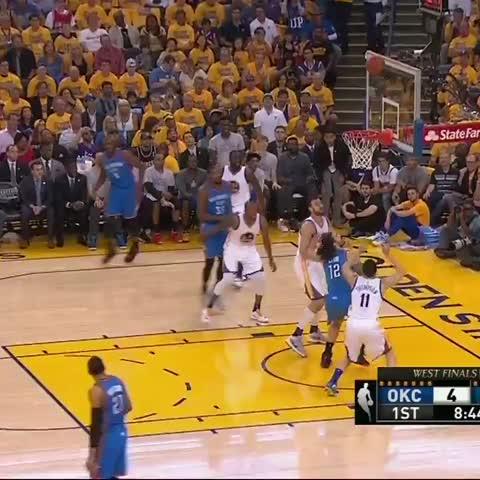 Vine by NBA TV - Adams dunk.