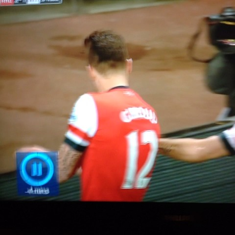Classy celebration by Giroud. #JFT96 - DeScealtúns post on Vine